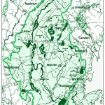 Georges River Watershed map